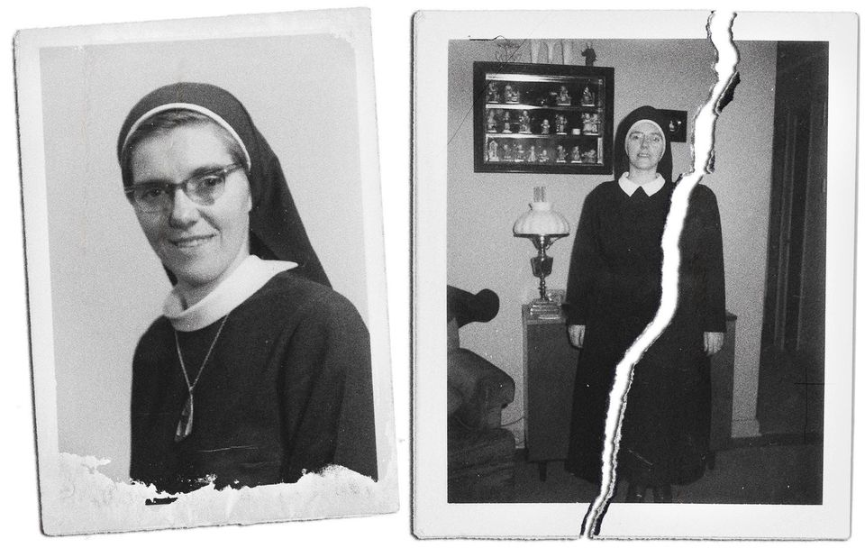 Sister Eileen Shaw (pictured above) was 21 years older than Trish Cahill when they first met in Glen...