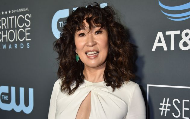 Sandra Oh's curly bangs are among the most