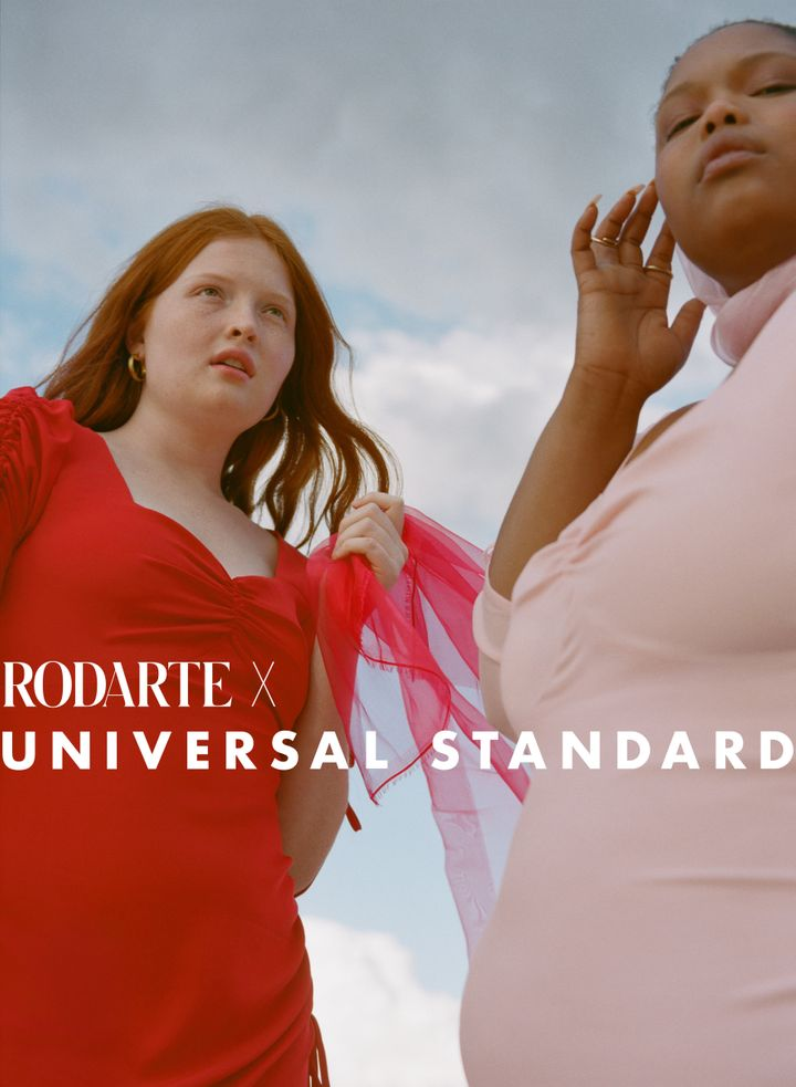 We'll take one of each in the Universal Standard x Rodarte collab, please.