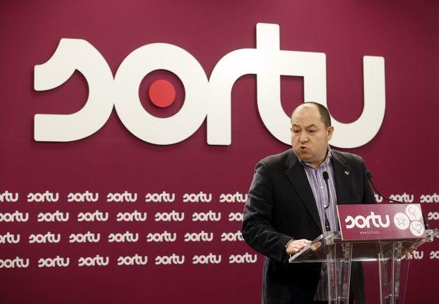 Pernando Barrena liderará a EH Bildu en las elecciones