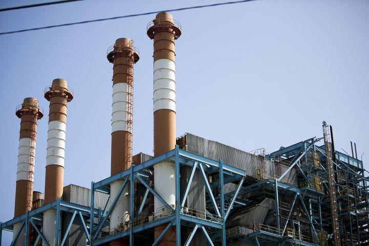 PREPA's oil-burning Palo Seco plant.