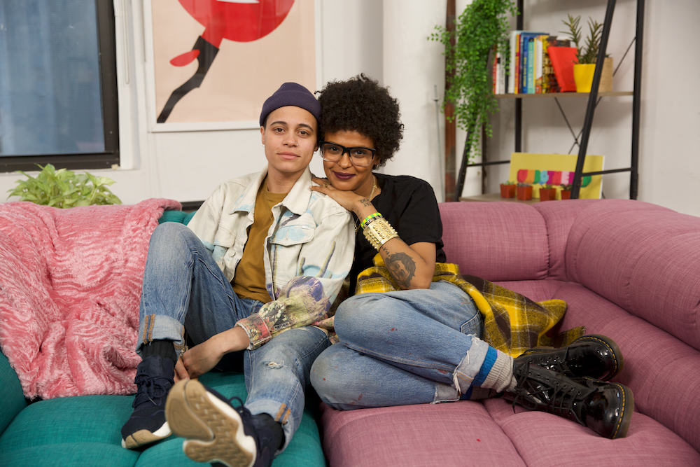 "Kiesh and Crystal featured in Refinery29's Unbothered series ""Dear, Black Love."""