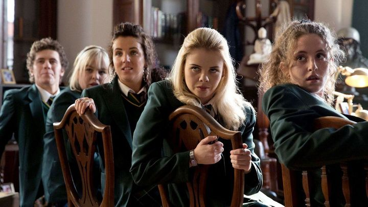 """Derry Girls"" on Netflix."