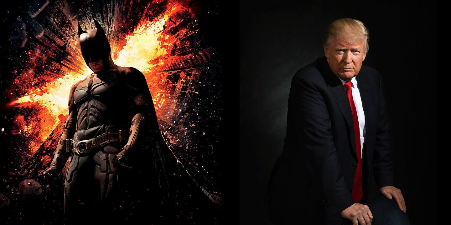 The Dark Knight Rises, Donald Trump