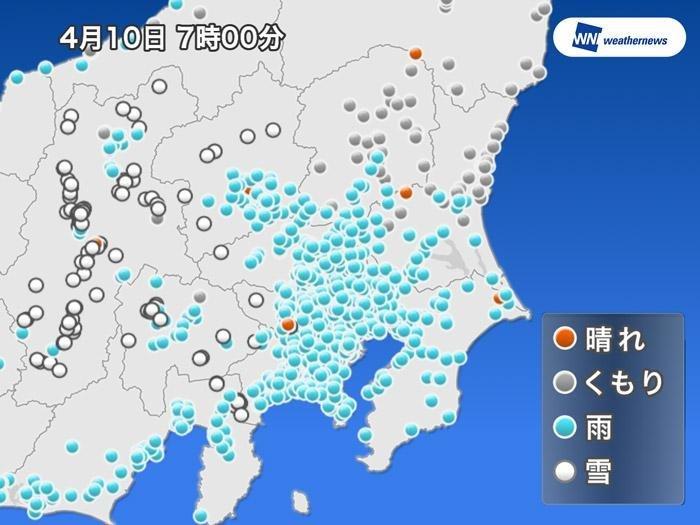 東京は昼も3℃予想と季節外れの寒さ。山沿いでは積雪のおそれも