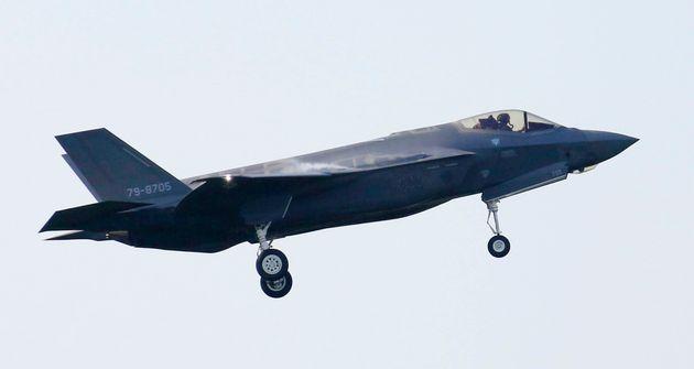 F-35A가 일본에서 추락해 파장이 일고