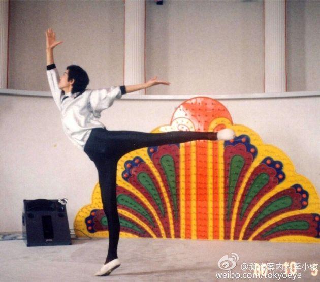 地元・湖南省のバレエ団に所属した