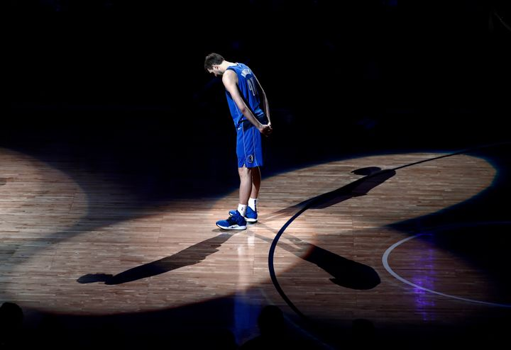 After scoring a season-high 30 points in a 120-109 victory for the Dallas Mavericks over the Phoenix Suns on Tuesday night. D