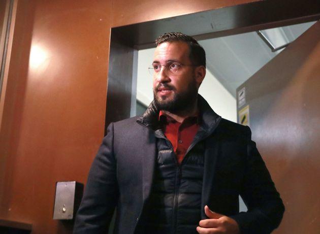 Affaire Benalla: le chef de cabinet de Macron au tribunal (Photo prise le 26 février