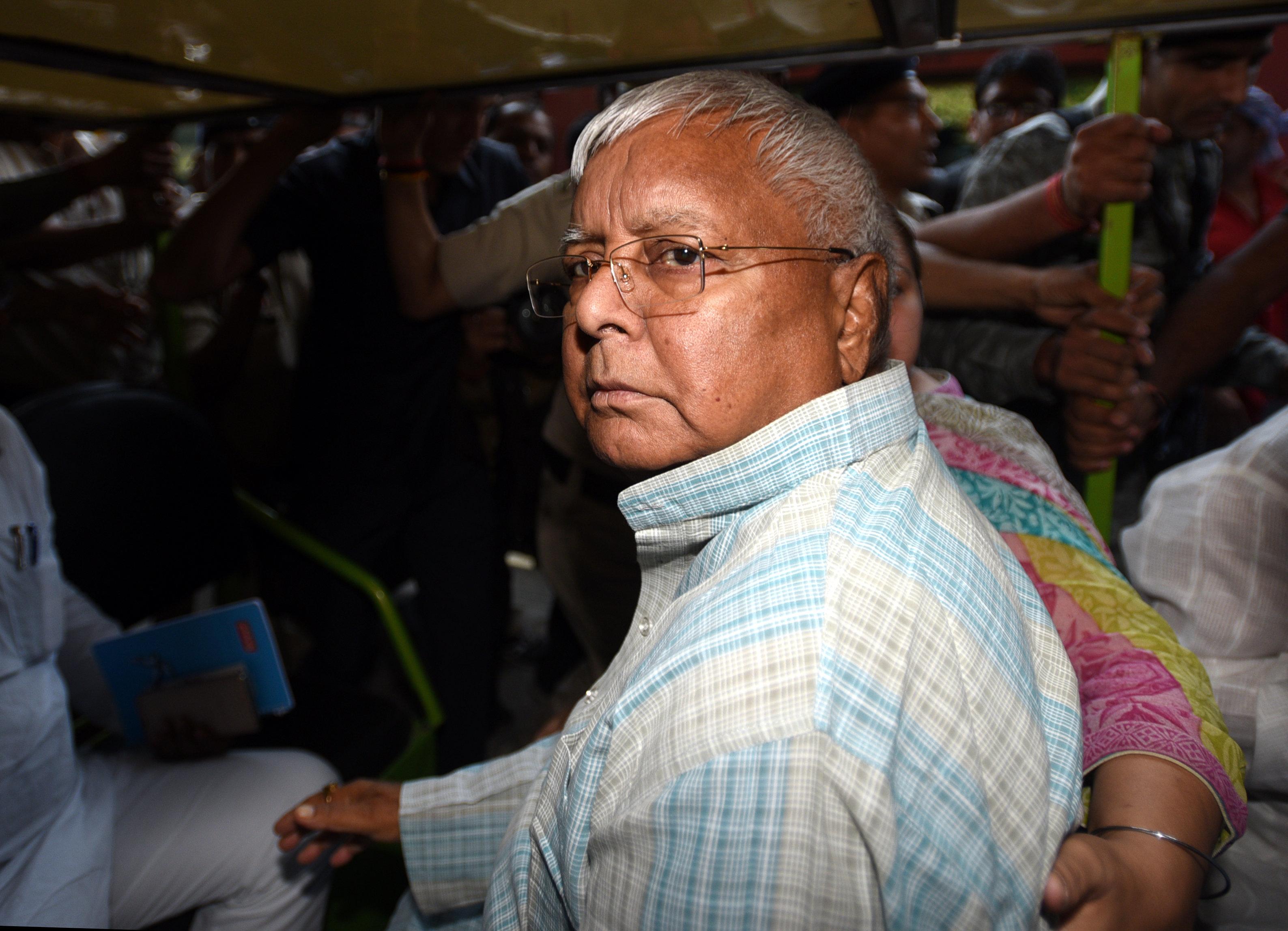 Fodder Scam: Supreme Court Dismisses Lalu Prasad Yadav's Bail