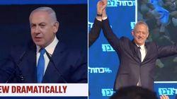 Israël: Benjamin Netanyahu donné vainqueur des législatives, Benny Gantz revendique aussi la