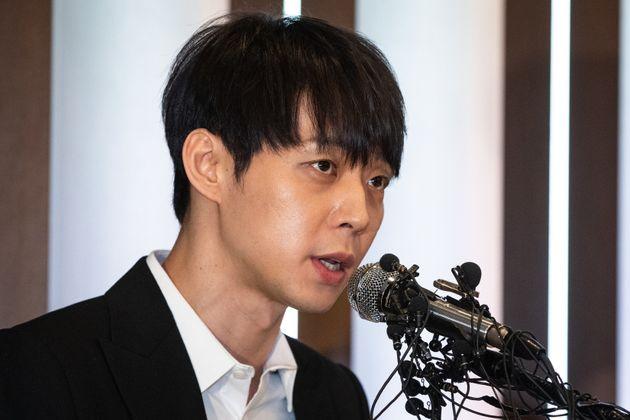 박유천이 '황하나에게 마약 권유한 연예인' 의혹에 대해