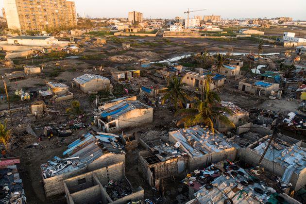 Cyclone Idai: le bilan devrait dépasser les 1000 morts (Photo prise le 1er avril 2019 à...
