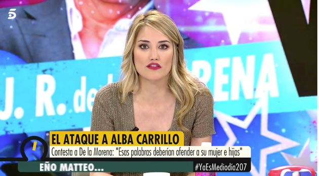 Alba Carrillo continúa la polémica: