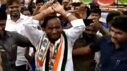 'Man Dole' For Votes? Karnataka Minister Performs 'Nagin Dance' To Woo