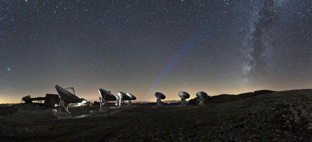 Voici la première photo d'un trou noir supermassif,