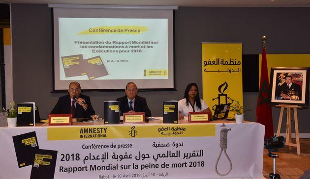 Amnesty International a présenté le rapport ce 10 avril au