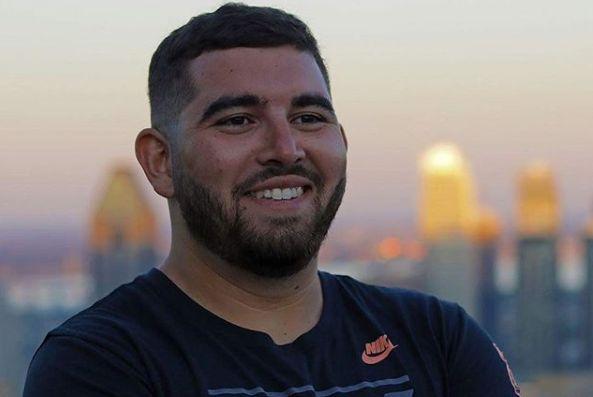 Assaad El Mellouki a parcouru 418 kilomètres pour rejoindre le siège de Nike.