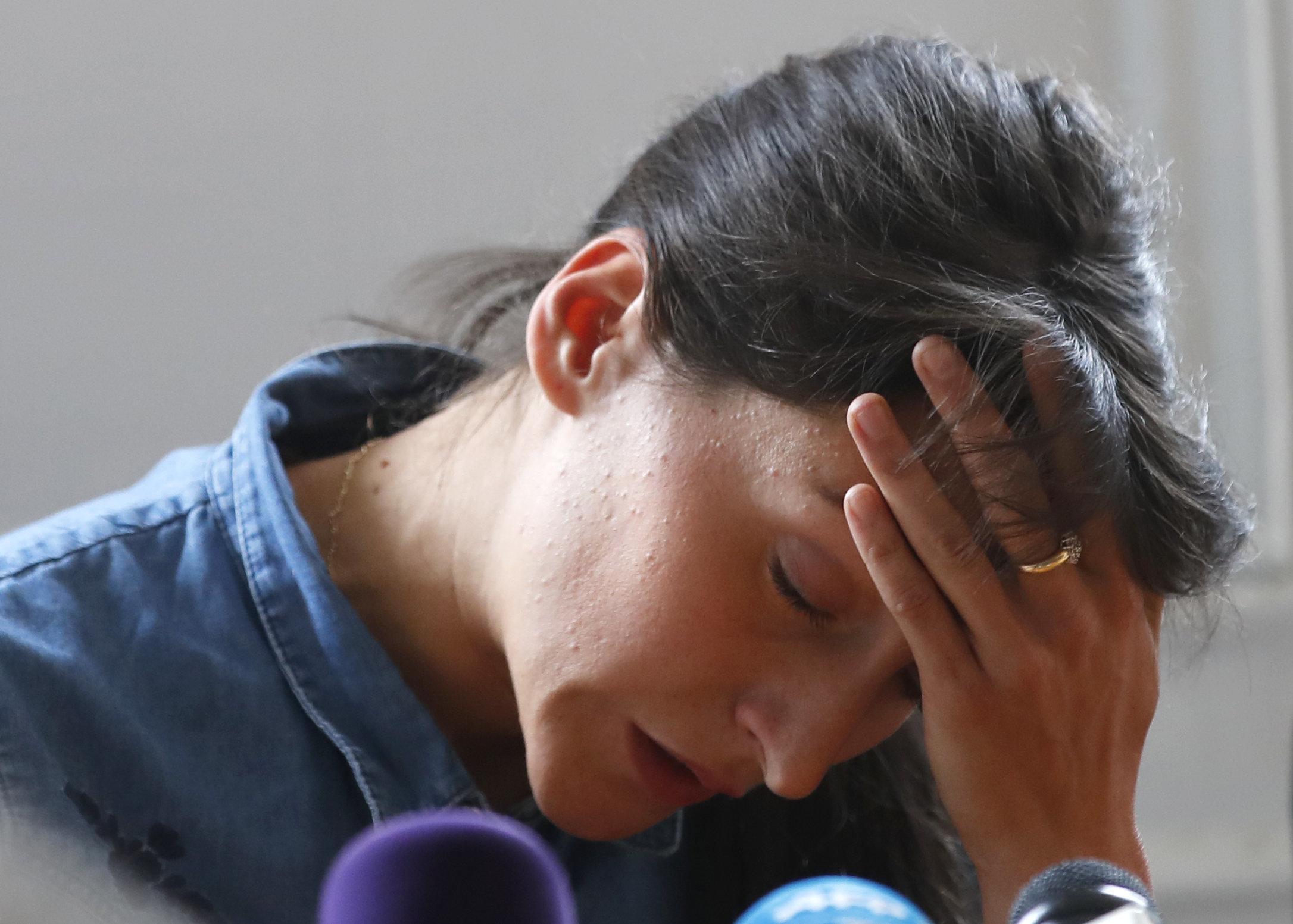 L'athlète Clémence Calvin brise le silence et parle de son contrôle antidopage à