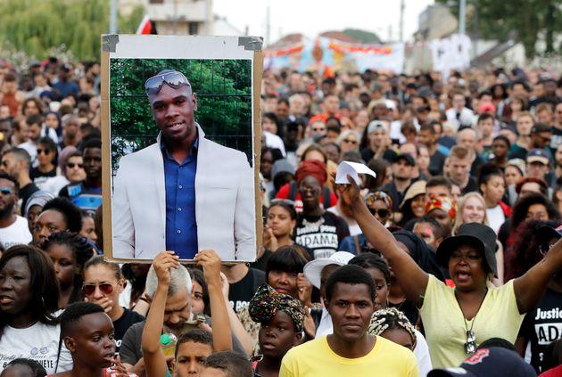 Une marche en hommage à Adama Traoré le 21 juillet 2018 à