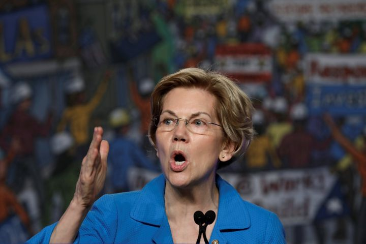 Massachusetts Sen. Elizabeth Warren has sworn off high-dollar fundraisers. Her $6 million haul in the first quarter of 2019 t