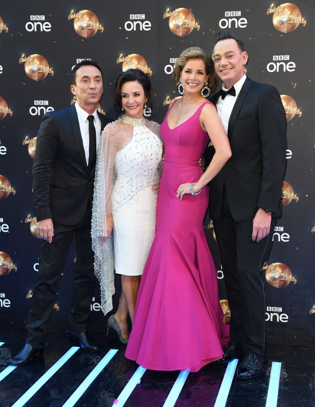 Darcey Bussell with Bruno Tonioli, Shirley Ballas and Craig Revel