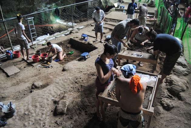 Le site archéologique où a été découvert l'Homo