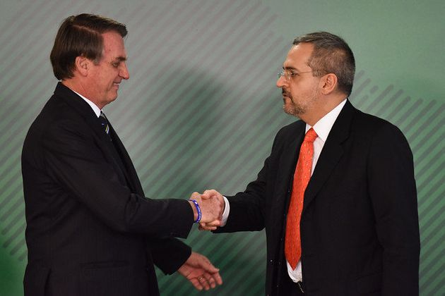 Abraham Weintraub foi nomeado ministro da Educação na segunda-feira (8), após Bolsonaro...