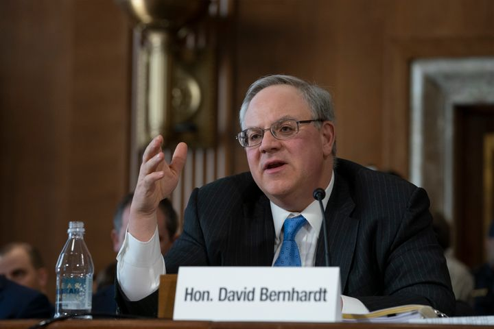 David Bernhardt, a former oil and gas lobbyist, has been confirmed by the Senate as the next secretary of the Interior Depart