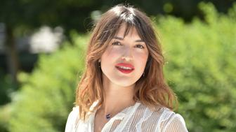 PARIS, FRANCE - JULY 02:  Jeanne Damas attends the Christian Dior  Haute Couture Fall/Winter 2018-2019 show as part of Haute Couture Paris Fashion Week on July 2, 2018 in Paris, France.  (Photo by Stephane Cardinale - Corbis/Corbis via Getty Images)