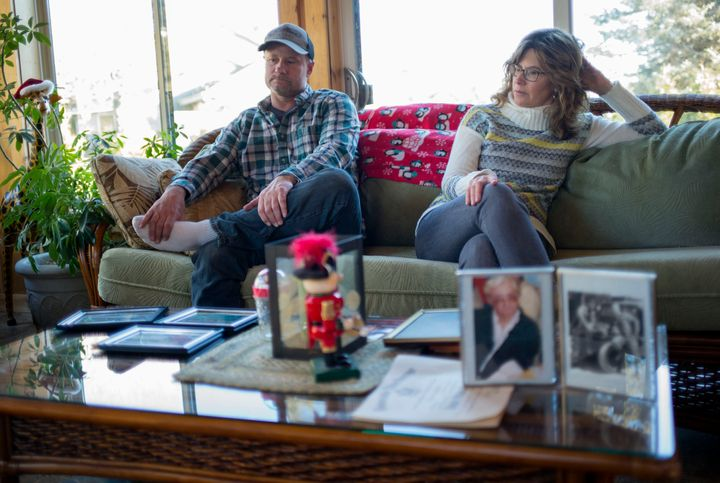 Mike Anders and Lorie Juno were devastated by the death of their father, Larry Anders, who died by suicide at a Wisconsin nu