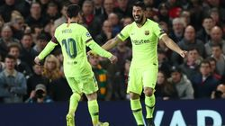 El Barça pone pie y medio en semifinales de la Champions al ganar al Manchester United