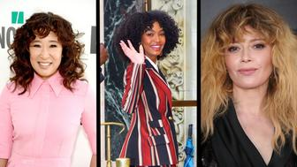 It's the year of curly bangs.
