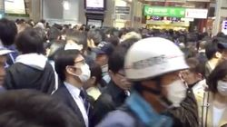 JR中央線・総武線・京浜東北線などで人身事故による大幅な電車遅延 複数駅で入場規制も