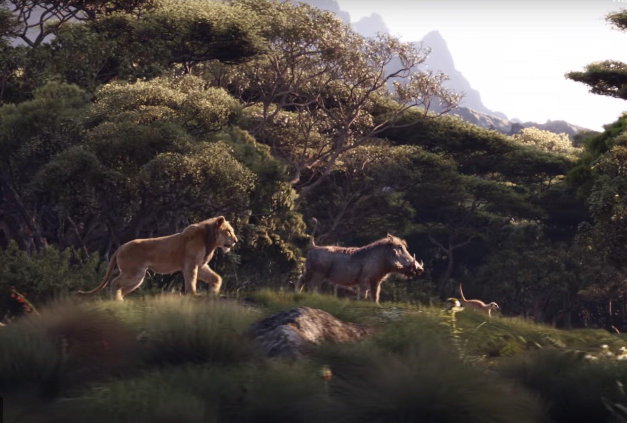 実写版「ライオン・キング」の予告映像が公開 あのシーンも(動画あり)