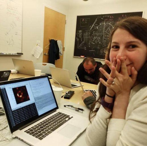 Black Hole Scientist Defends Female Colleague Against Sexist
