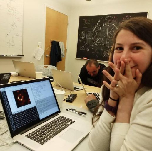 Katie Bauman, a computer scientists, played a major role in the creation of the world's first photo of a black hole.
