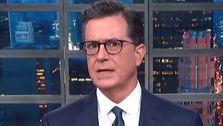 Colbert Reveals Trump's