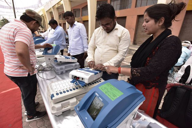 Voting Round 1: Jana Sena Candidate Smashes EVM In Andhra