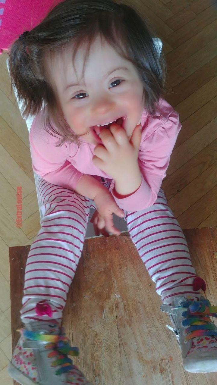 Je suis le papa de Louise 4 ans - c'est elle sur la photo pour ceux qui ne la connaîtraient pas- et de Paul 8 ans.