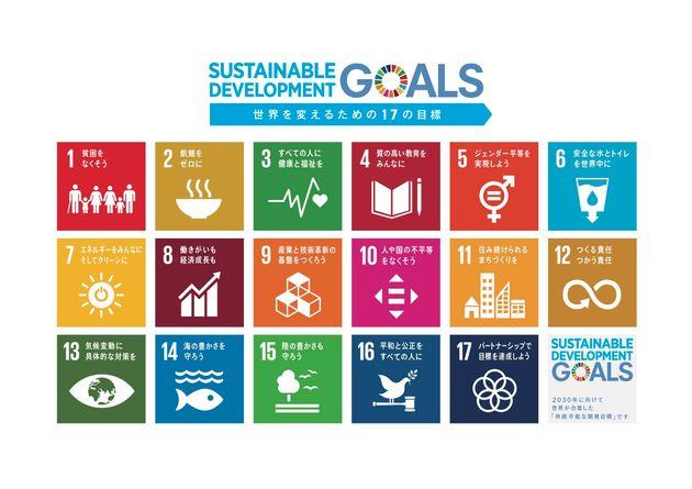 SDGs「世界を変えるための17の目標」