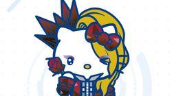 YOSHIKI×ハローキティのYOSHIKITTYが「サンリオキャラクター大賞」に参戦 目指すは悲願の初優勝