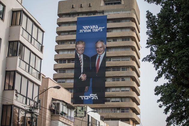 베냐민 네타냐후 이스라엘 총리는 도널드 트럼프 미국 대통령과의 '케미'를 선어게 적극