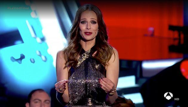 El sobresalto de Eva González por lo que dijo Alejandro Sanz en la final de 'La