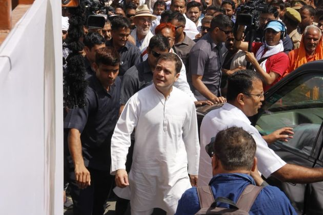 Congress Says Laser Pointed At Rahul Gandhi's Head, Home Ministry