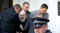 VÍDEO: Así ha sido el momento de la detención de Julian