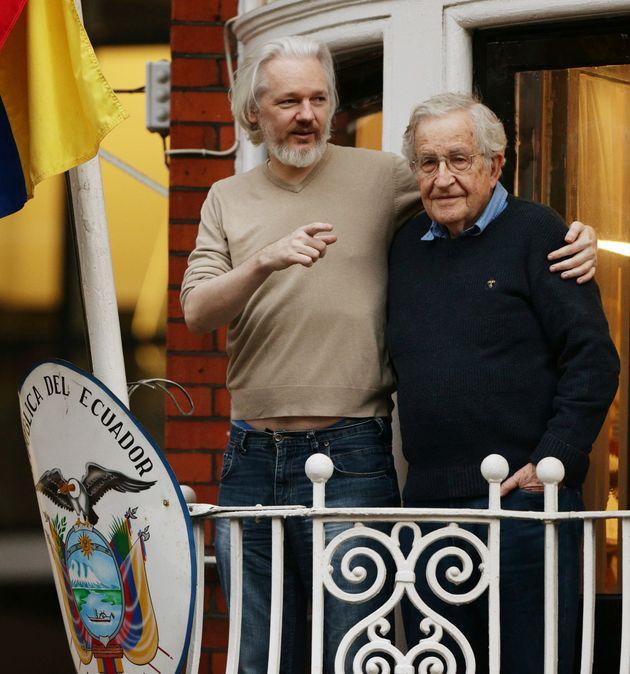 Julian Assange and Noam