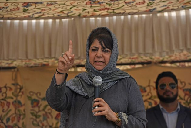 Voting Round 1: Mehbooba Mufti Alleges People Being 'Coerced' To Vote For BJP In