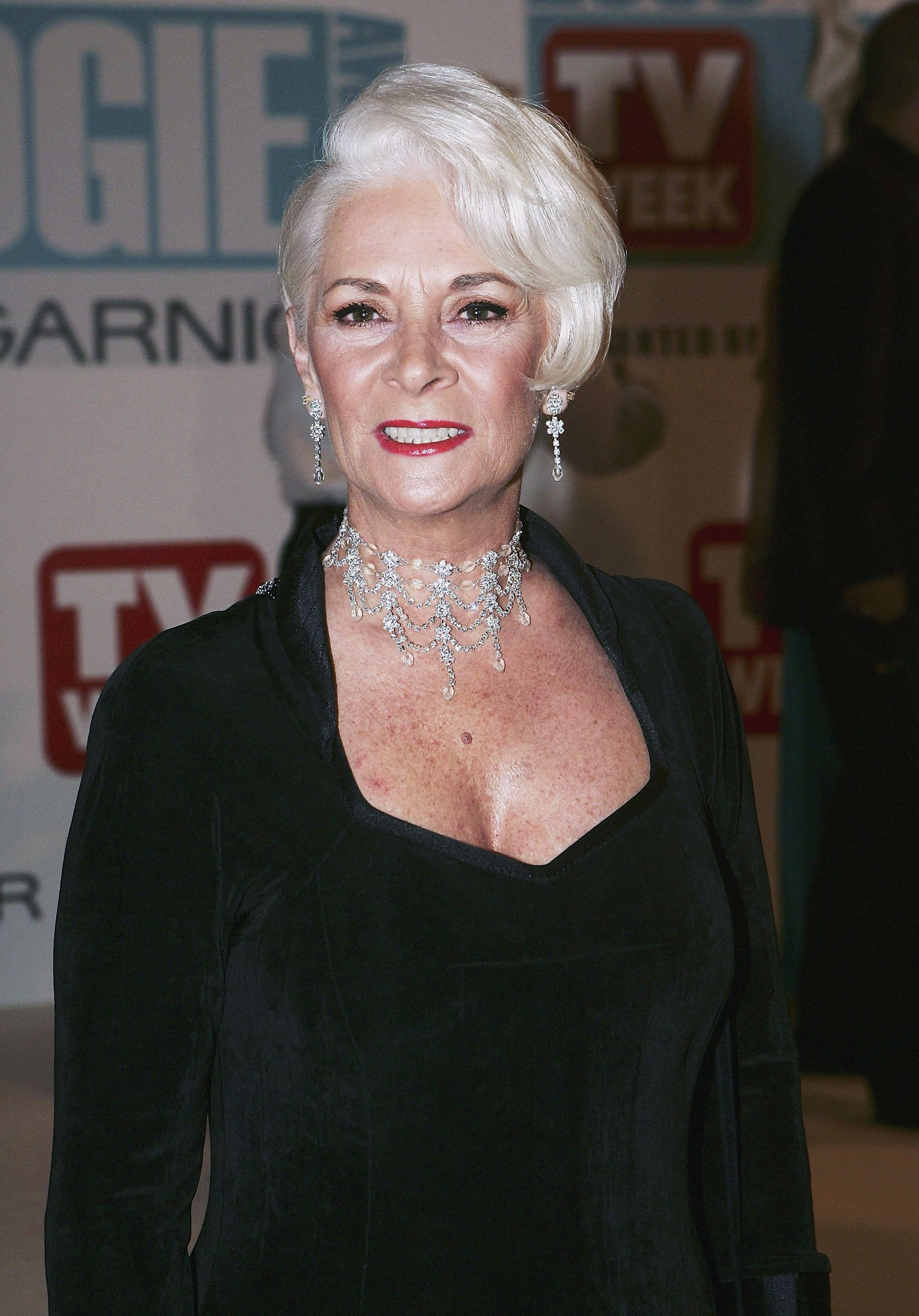 MELBOURNE, AUSTRALIA - MAY 01:   Helen Richey arrives at the 47th Annual TV Week Logie Awards at the Crown Entertainment Complex on May 1, 2005 in Melbourne, Australia.  (Photo by Patrick Riviere/Getty Images)