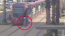 Après cette vidéo, vous redoublerez de prudence avant de traverser les rails d'un